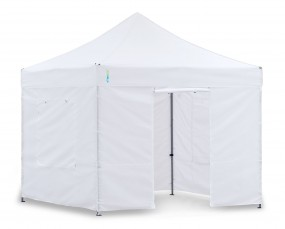 Light-Pavillon-Set - Faltzelt 3x3m weiss