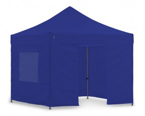 Light-Pavillon-Set - Faltzelt 3x3m Blau