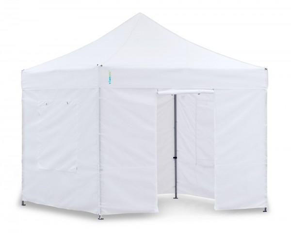 Faltzelt 3x3m Pavillon-Set weiss Pavillon, Pavillon oder Faltpavillon