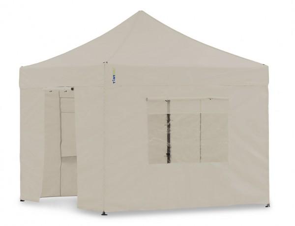 Seitenwand-Set Sand 3x3m für Tentastic Faltpavillon Polyester