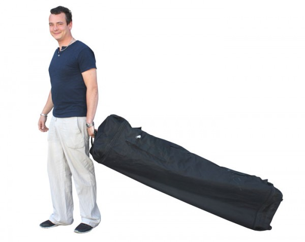 Tentastic Faltzelt Faltpavillon Transporttasche mit Rollen