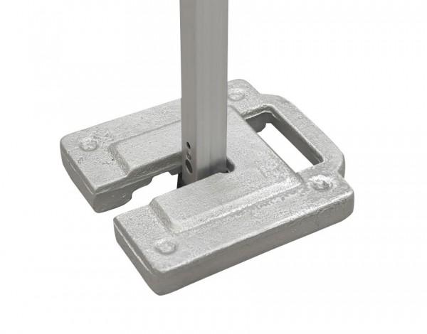 Tentastic Gewichte Set 2x 5 Kg für stabilen Stand des Pavillon