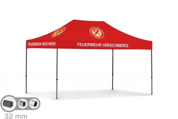 Tentastic Profi Faltzelt Propavillon 32 mit 32 millimeter Rahmenstärke für die Feuerwehr