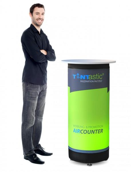 Tentastic Counter Theke AirCounter, pneumatisch mit Digitaldruck, für Faltpavillon & Pavillon
