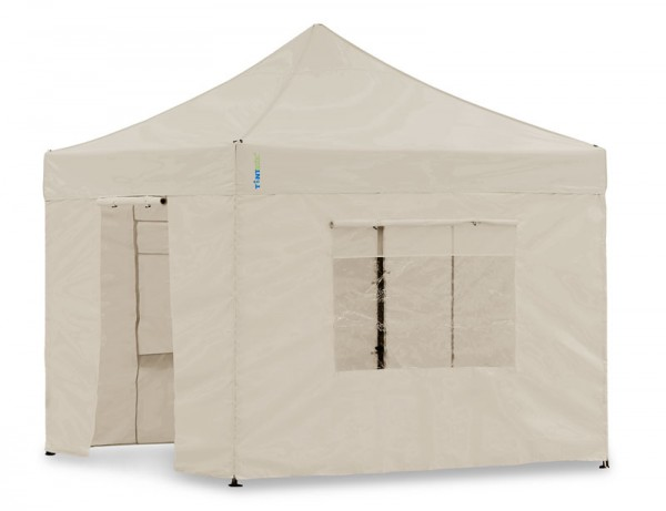 Seitenwand-Set Sand 4x4m für Tentastic Faltpavillon Polyester