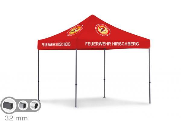 Tentastic Profi Faltzelt oder Faltpavillon für die Feuerwehr,bedruckt