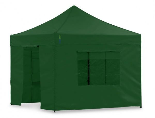 Seitenwand-Set Grün 2,3x2,3m für Tentastic Faltpavillon Polyester