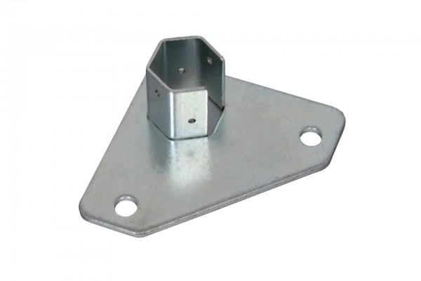 Ersatzteil Tentastic Faltzelt Hexatent 55 D Fussplatte mit Lochung