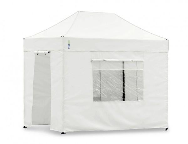 Seitenwand-Set Weiss 2x3m für Tentastic Faltpavillon Polyester