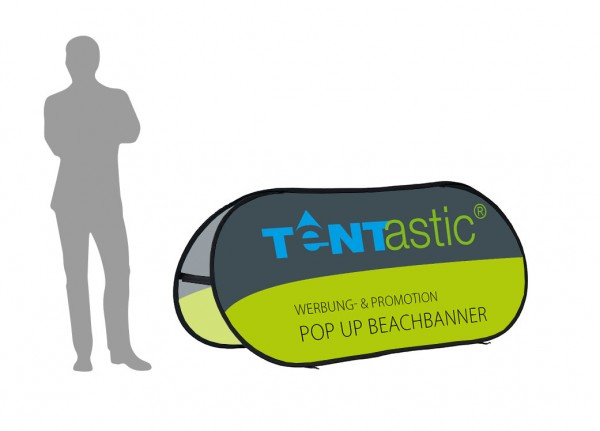 Pop Up Beachbanner M