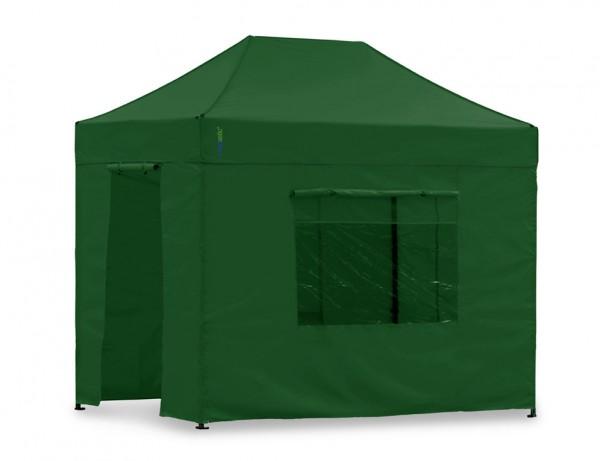 Seitenwand-Set Grün 2x3m für Tentastic Faltpavillon Polyester