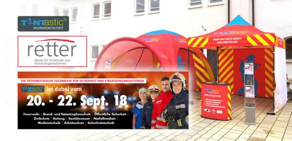 Tentastic-Messe-Retter-Oesterreich-Faltzelt-Faltpavillon