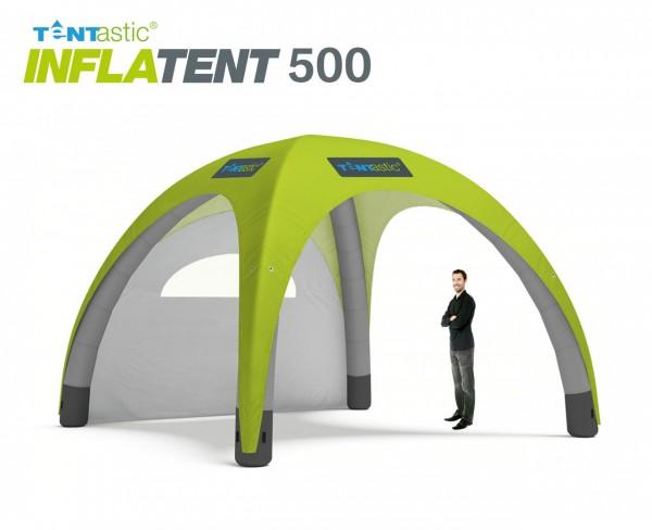 Tentastic Inflatent 500, das aufblasbare Zelt, individuell bedruckbar mit leuchtenden, lichtechten Farben